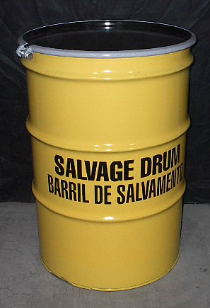 85 Gallon Open Head Steel Drum