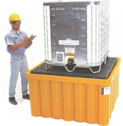 IBC SpillPallet, All-Poly, With Drain