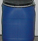 8 Gallon Open Head Plastic Drum | Open Head Plastic Drums & Barrels