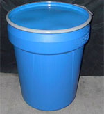 30 Gallon Open Head Plastic Drum | Open Head Plastic Drums & Barrels