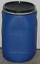 8 Gallon, Open Head Plastic Drum