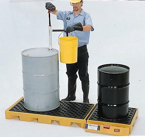 2360 - 3-Drum InLine Spill Deck