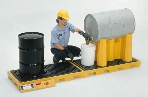 2361 - 4-Drum InLine Spill Deck