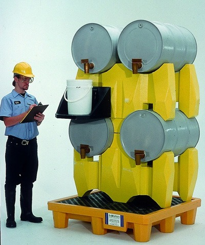 Drum Rack Containment Systems®   Environmental Containment Products
