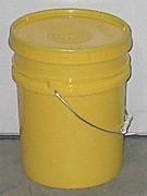 2385 - 5 Gallon, Open Head Plastic Pail