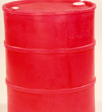 15 Gallon, Tight Head Plastic Drum