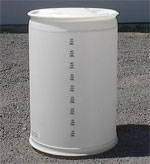 35 - 55 Gallon Plastic Drums For Sale