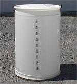 35 - 55 Gallon Plastic Drums For Sale