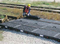 Track Pans   Environmental Containment Products