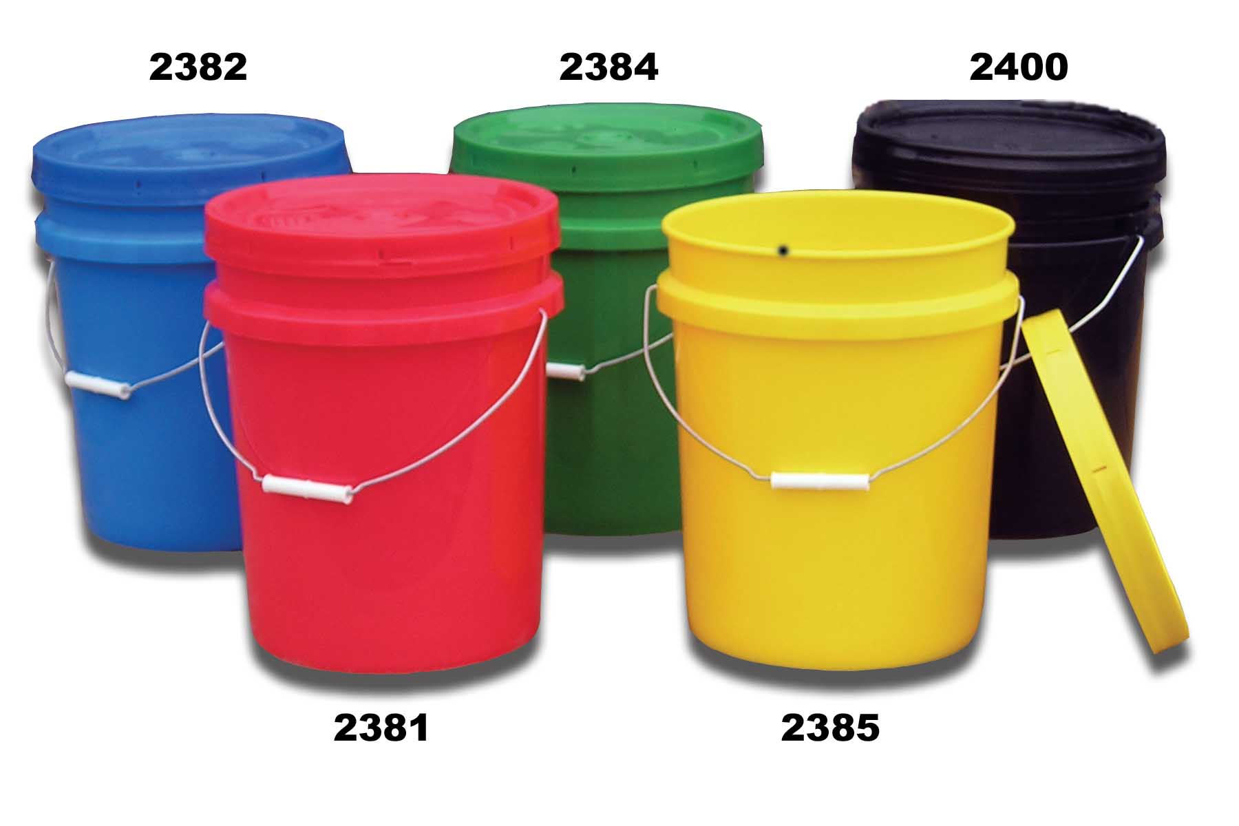 Plastic Pails & Buckets for Sale at YBDCO