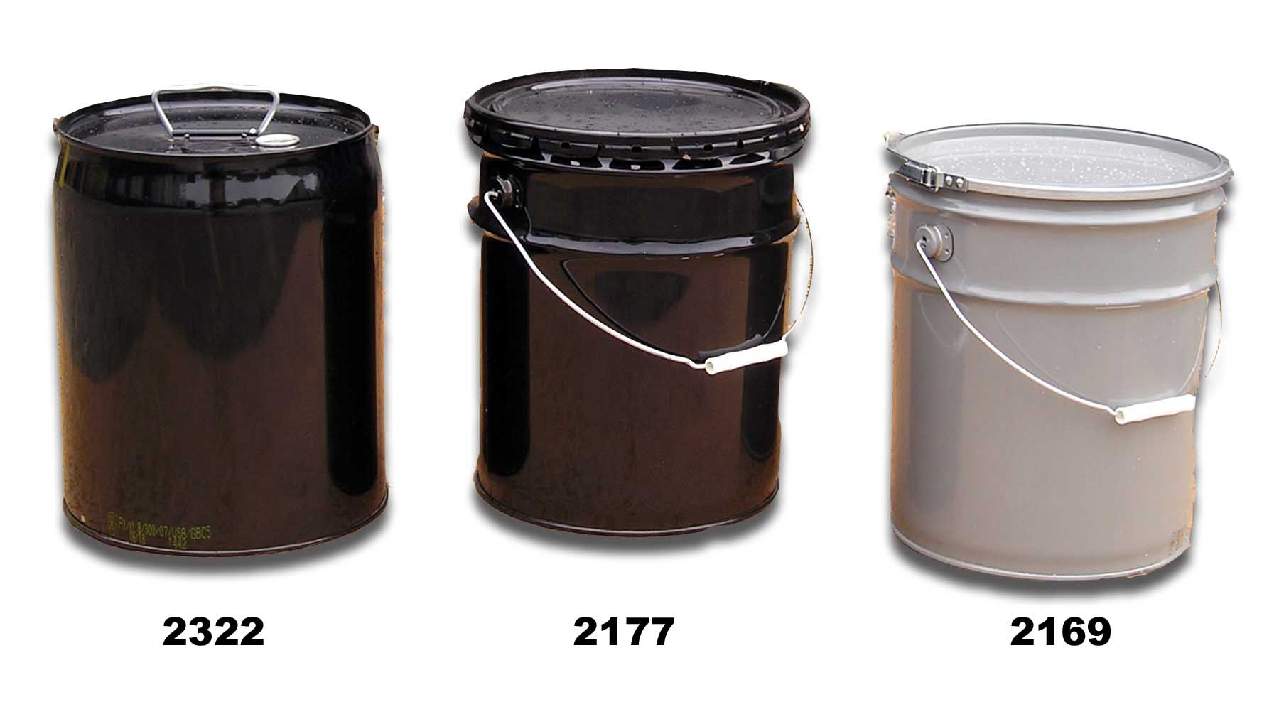 Buy steel pails and buckets