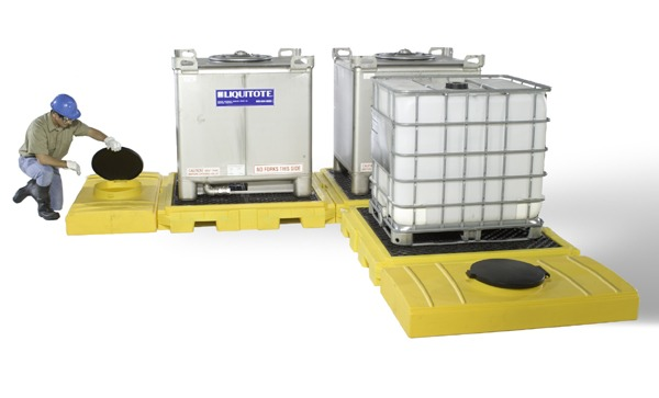 Modular IBC Spill Pallets | Environmental Containment Products