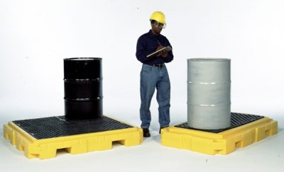 Spill Pallet P2 Plus, (With Drain)