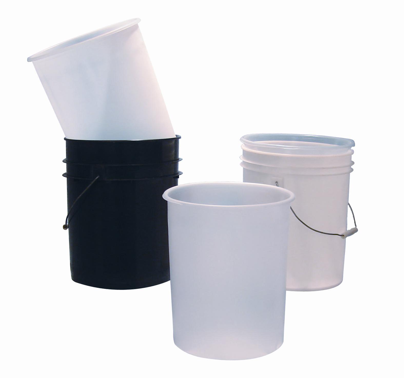 5 Gallon Pail Liner Flexible : Gallon ldpe plastic pail youngstown barrel drum