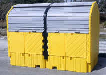 Twin IBC Hard Top | Environmental Containment Products