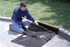 """udg curbstyle - 24""""-42"""" Ultra-Drain Guard, Curb-Insert Style, Oil & Sediment Plus Model"""