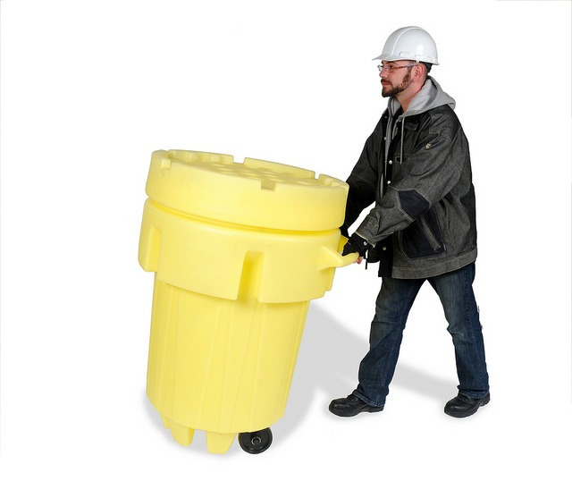 95 Gallon Salvage/Overpack, Wheeled Model Plastic Drum