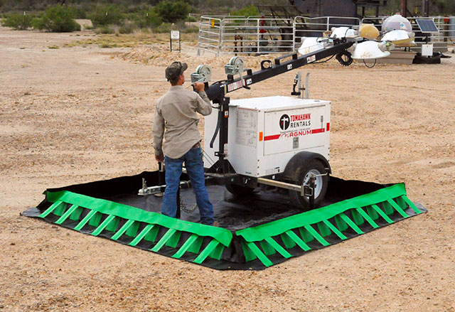 Containment Berm®, Compact Models    Environmental Containment Products