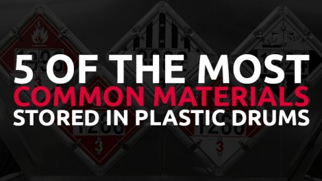 Most Common Materials Stored in Plastic Drums