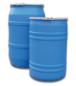 55 Gallon Plastic Drums for Sale