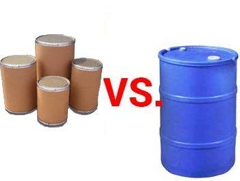 Poly Drum vs Fiber Drums